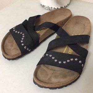 Birkenstock Papillio black sandals Size 8